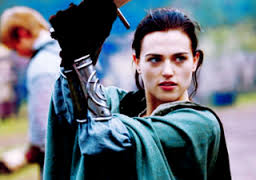 The Lady Morgana, being awesome.
